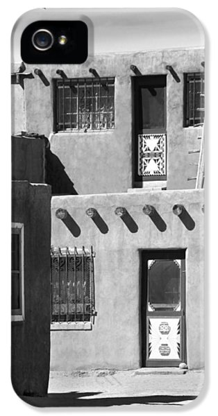 Acoma Pueblo Adobe Homes IPhone 5 Case by Mike McGlothlen
