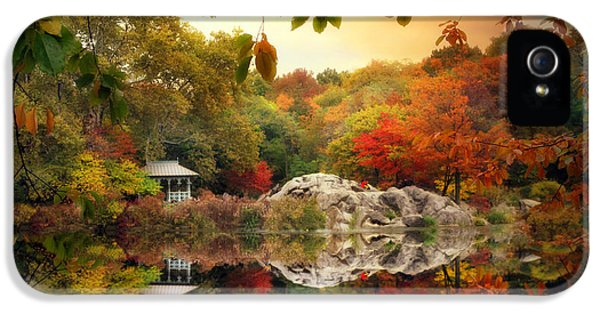 Autumn At Hernshead IPhone 5 Case