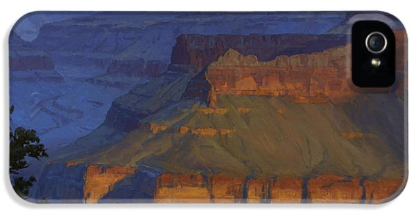 Grand Canyon iPhone 5 Case - Blue Morning by Cody DeLong