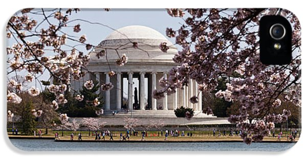 Cherry Blossom Trees In The Tidal Basin IPhone 5 Case
