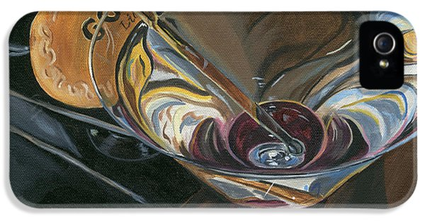 Food And Beverage iPhone 5 Case - Chocolate Martini by Debbie DeWitt