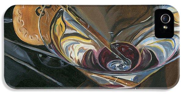 Chocolate Martini IPhone 5 Case by Debbie DeWitt