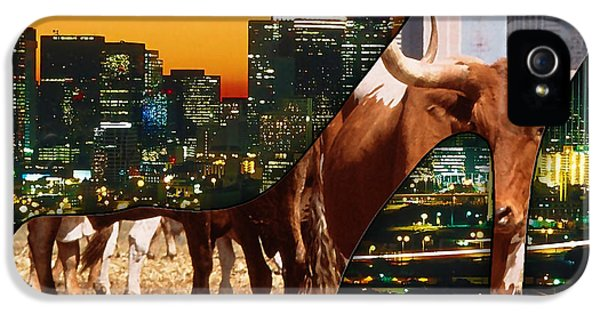 Dallas Texas Skyline IPhone 5 / 5s Case by Marvin Blaine
