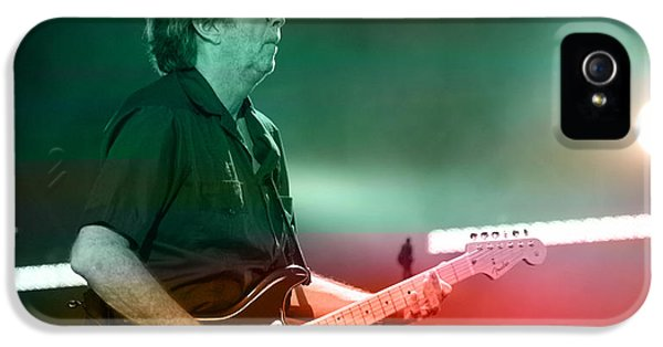 Eric Clapton IPhone 5 Case by Marvin Blaine