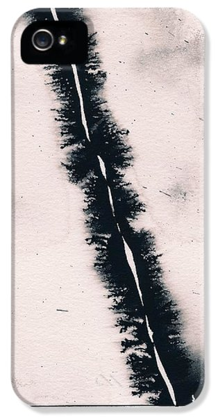 IPhone 5 Case featuring the painting Fracture by Marc Philippe Joly