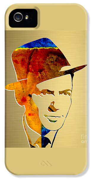 Frank Sinatra Gold Series IPhone 5 / 5s Case by Marvin Blaine