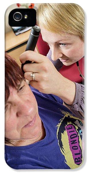 Gp Examining Patient IPhone 5 Case