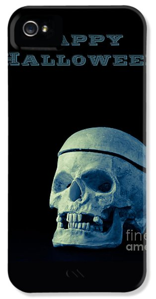 Happy Halloween Card 2 IPhone 5 Case by Edward Fielding