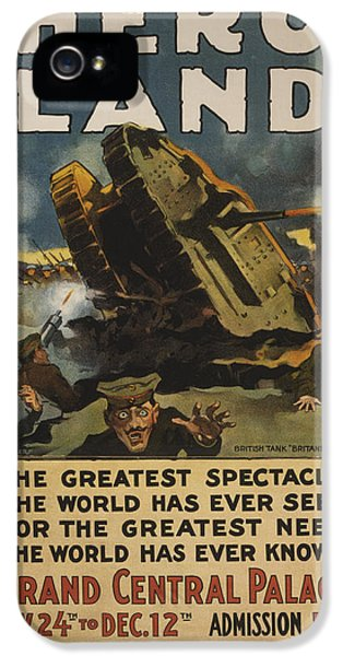 Hero Land Poster IPhone 5 Case