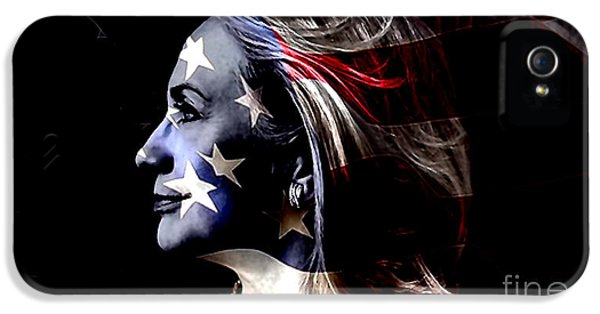 Hillary 2016 IPhone 5 Case by Marvin Blaine