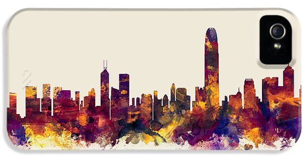 Hong Kong Skyline IPhone 5 Case