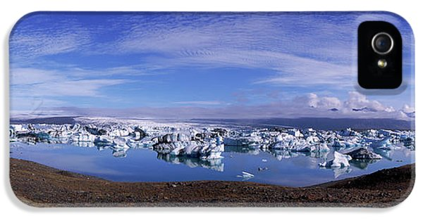 Icebergs, Jokulsarlon Glacial Lagoon IPhone 5 Case