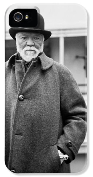 Industrialist Andrew Carnegie IPhone 5 Case