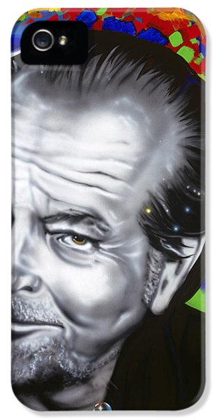 Jack IPhone 5 Case by Alicia Hayes