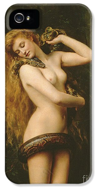 Python iPhone 5 Case - Lilith by John Collier
