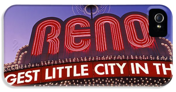 Low Angle View Of The Reno Arch IPhone 5 Case by Panoramic Images