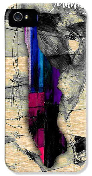 Manhattan Map Watercolor IPhone 5 Case