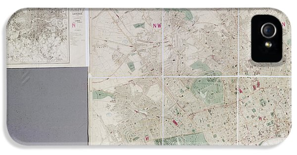 Map Of London IPhone 5 Case