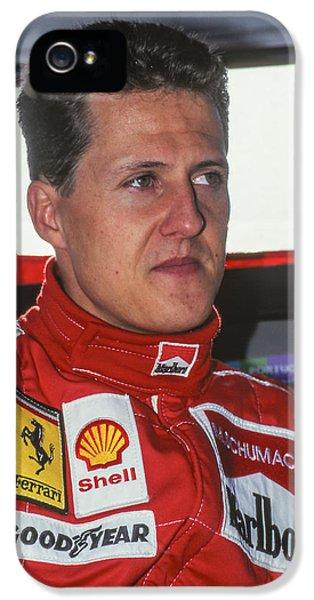 Michael Schumacher   IPhone 5 Case by Jose Bispo