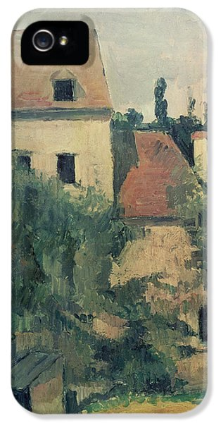 Moulin De La Couleuvre At Pontoise IPhone 5 Case by Paul Cezanne
