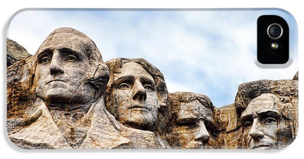 Mount Rushmore Monument IPhone 5 / 5s Case by Olivier Le Queinec