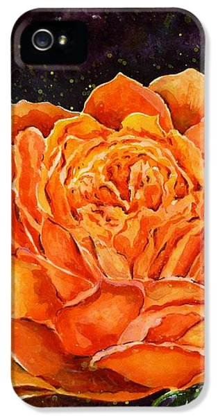Orange Rose IPhone 5 Case