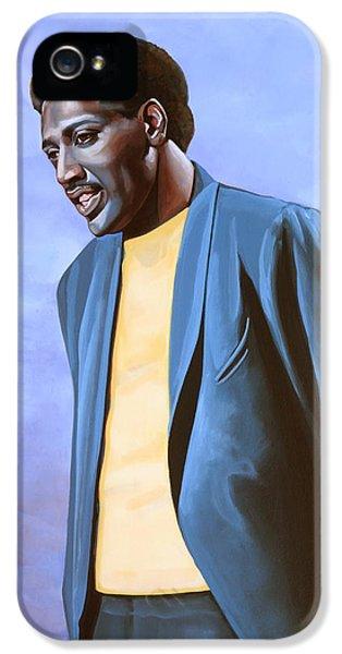 Otis Redding Painting IPhone 5 Case by Paul Meijering