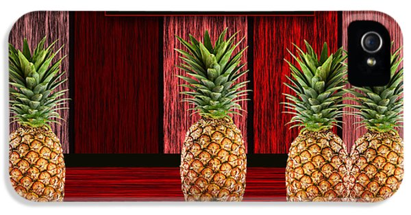 Pineapple Farm IPhone 5 / 5s Case by Marvin Blaine