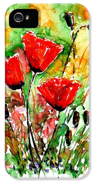 Poppy Lawn IPhone 5 Case