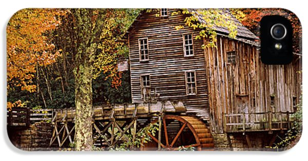 Power Station In A Forest, Glade Creek IPhone 5 Case by Panoramic Images
