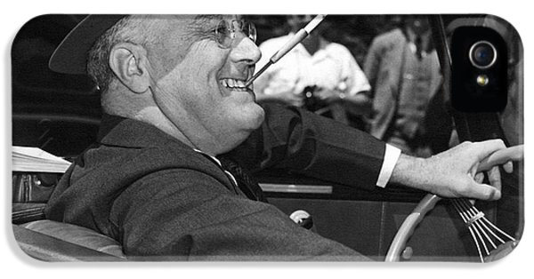 President Franklin Roosevelt IPhone 5 Case