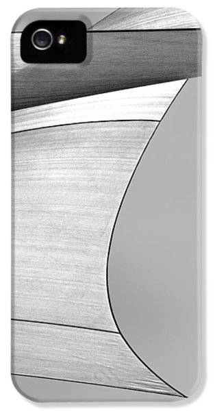 Sailcloth Abstract Number 4 IPhone 5 Case by Bob Orsillo