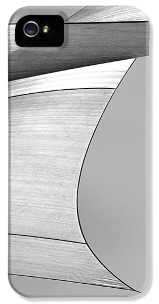 Abstract iPhone 5 Case - Sailcloth Abstract Number 4 by Bob Orsillo