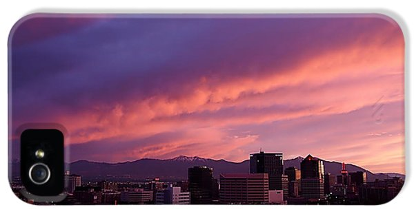 Salt Lake City Sunset IPhone 5 Case
