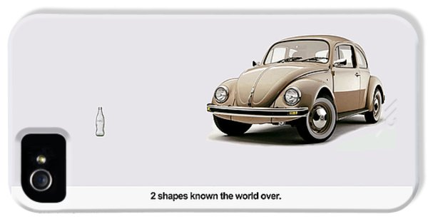 2 Shapes Known The World Over IPhone 5 Case by Mark Rogan
