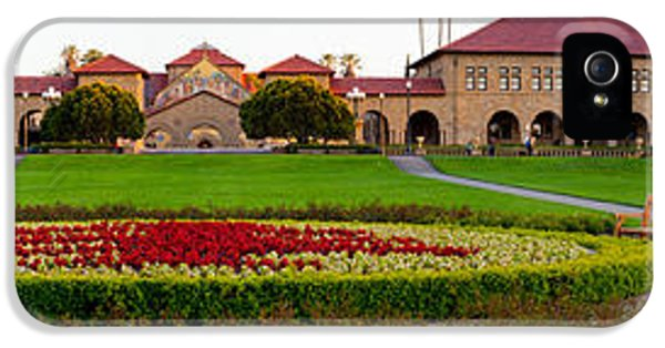 Stanford University Campus, Palo Alto IPhone 5 Case by Panoramic Images