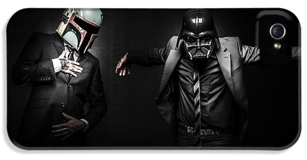 Weather iPhone 5 Case - Starwars Suitup by Marino Flovent