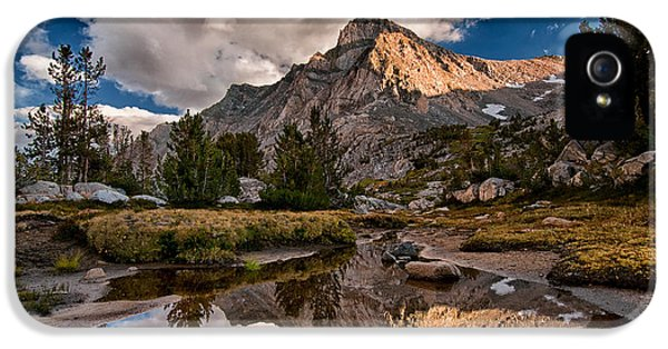 Tarn Reflection IPhone 5 Case by Cat Connor
