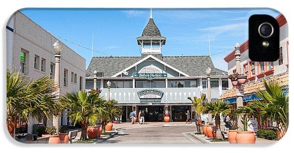 The Landmark Balboa Pavilion In Newport Beach California. IPhone 5 Case