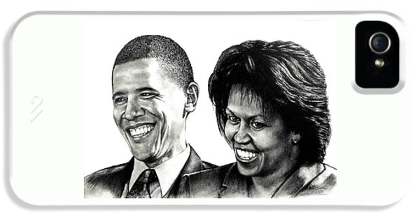 The Obama's IPhone 5 Case by Todd Spaur