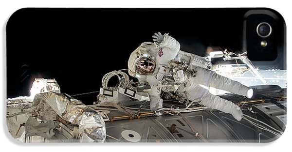 Emu iPhone 5 Case - Tim Peake's Spacewalk by Nasa