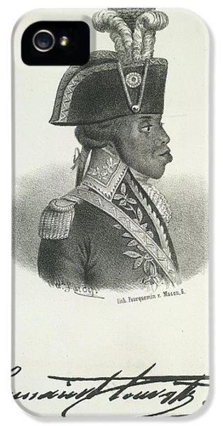 Toussaint Louverture IPhone 5 Case