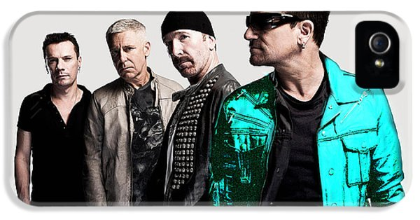 U2 IPhone 5 Case by Marvin Blaine