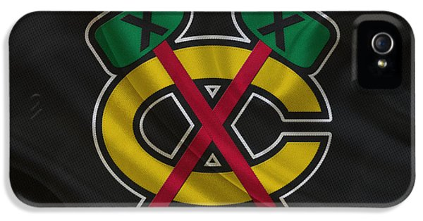 Chicago Blackhawks IPhone 5 Case by Joe Hamilton