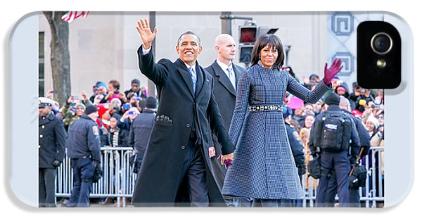 2013 Inaugural Parade IPhone 5 Case by Ava Reaves