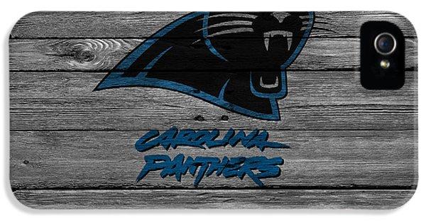Panther iPhone 5 Case - Carolina Panthers by Joe Hamilton