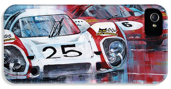 24 Le Mans 1970 IPhone 5 Case by Yuriy Shevchuk