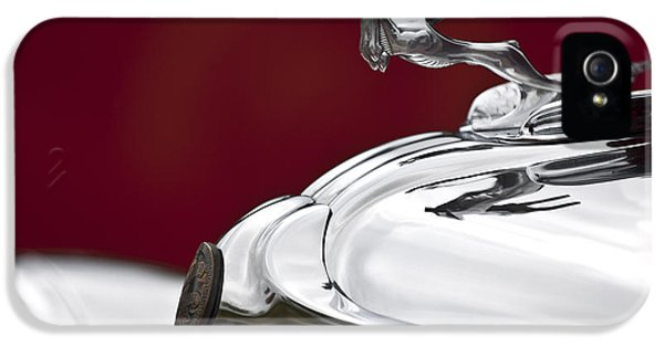 1931 Chrysler Cg Imperial Roadster Hood Ornament IPhone 5 Case by Jill Reger