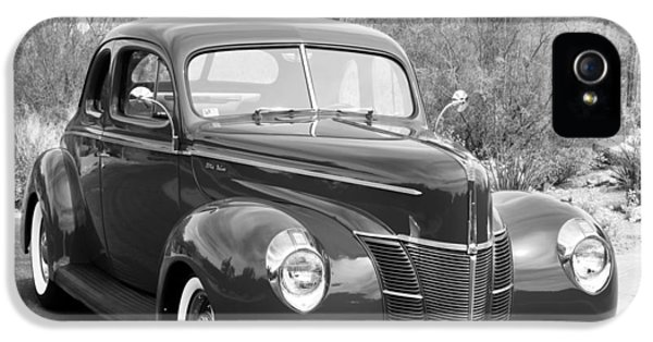 1940 Ford Deluxe Coupe IPhone 5 Case