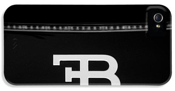 2008 Bugatti Veyron Emblem IPhone 5 Case by Jill Reger